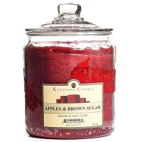 Apples and Brown Sugar Jar Candles 64 oz