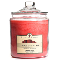 Amber Oud Wood Jar Candles 64 oz