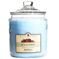 Beach Towel Jar Candles 64 oz
