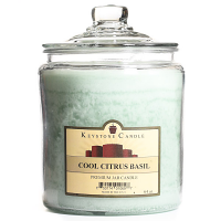 Cool Citrus Basil Jar Candles 64 oz