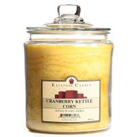 Cranberry Kettle Corn Jar Candles 64 oz