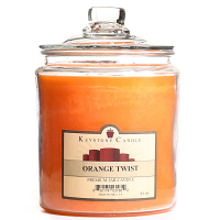 Orange Twist Jar Candles 64 oz