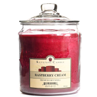 Raspberry Cream Jar Candles 64 oz