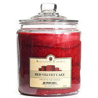 Red Velvet Cake Jar Candles 64 oz