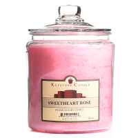 Sweetheart Rose Jar Candles 64 oz