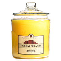Tropical Pineapple Jar Candles 64 oz