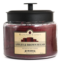 Apples and Brown Sugar 64 oz Montana Jar Candles