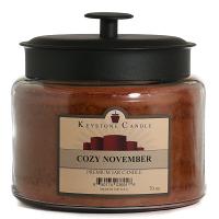 Cozy November 70 oz Montana Jar Candle