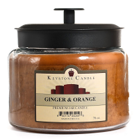 Ginger and Orange 70 oz Montana Jar Candles