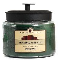 Holiday Wreath 70 oz Montana Jar Candles