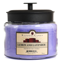 Lemon and Lavender 70 oz Montana Jar Candles