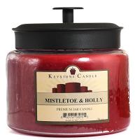 Mistletoe and Holly 70 oz Montana Jar Candles