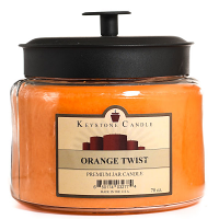 Orange Twist 70 oz Montana Jar Candles
