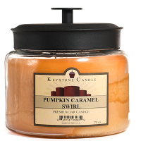 Pumpkin Caramel Swirl 70 oz Montana Jar Candles