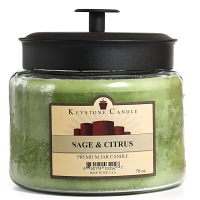Sage and Citrus 70 oz Montana Jar Candles