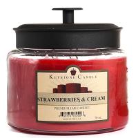 Strawberries and Cream 64 oz Montana Jar Candles