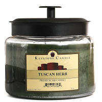 Tuscan Herb 70 oz Montana Jar Candles