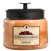 Warm Banana Bread 64 oz Montana Jar Candles