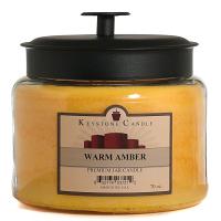 Warm Amber 70 oz Montana Jar Candle