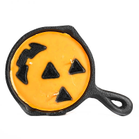 Jack-O-Lantern Scented Pan Candles