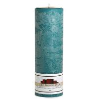 Textured Tiki Woodlands 3 x 9 Pillar Candles