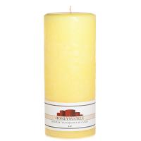Textured Honeysuckle 4 x 9 Pillar Candles