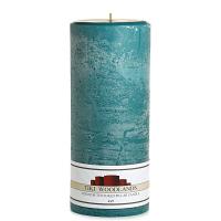 Textured Tiki Woodlands 4 x 9 Pillar Candles