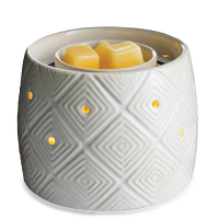 Geometric Illuminaire Fan Candle Warmer
