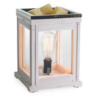 Vintage Bulb Weathered Wood Tart Burner