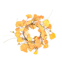 Ginko Pumpkin 4.5 Inch Candle Ring