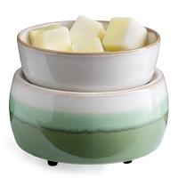 Candle Warmer & Dish Matcha Latte