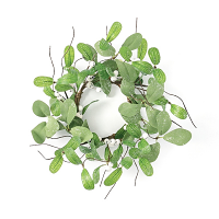 Mistletoe 4.5 Inch Candle Ring