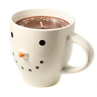 Snowman Mug Hazelnut Coffee 20 oz