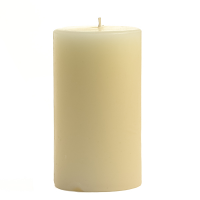 2 x 3 Unscented Ivory Pillar Candles