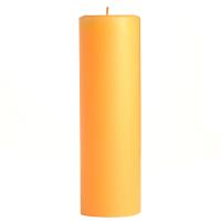2 x 6 Creamsicle Pillar Candles