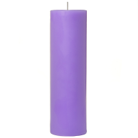 2 x 6 Lavender Pillar Candles