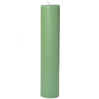2 x 9 Honeydew Melon Pillar Candles