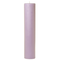 2 x 9 Lemon Lavender Pillar Candles