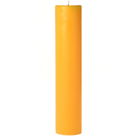 2 x 9 Sunflower Pillar Candles