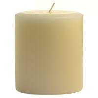 3 x 3 French Vanilla Pillar Candles