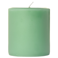 3 x 3 Honeydew Melon Pillar Candles