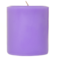 3 x 3 Lavender Pillar Candles