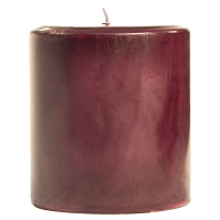 3 x 3 Spiced Plum Pillar Candles