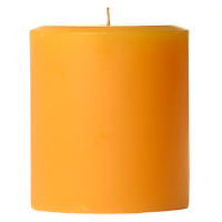 3 x 3 Sunflower Pillar Candles