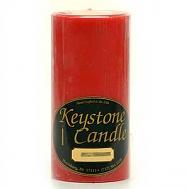 3 x 6 Apple Cinnamon Pillar Candles