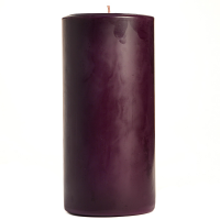 3 x 6 Black Cherry Pillar Candles