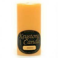 3 x 6 Creamsicle Pillar Candles