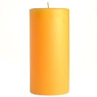3 x 6 Creamsicle Pillar Candles