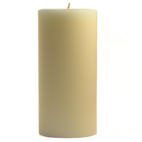 3 x 6 French Vanilla Pillar Candles