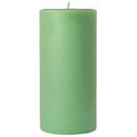 3 x 6 Honeydew Melon Pillar Candles